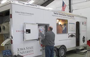 Iowa State University ventilation trailer